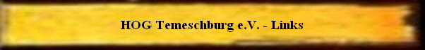 HOG Temeschburg e.V. - Links